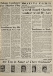 Montana Kaimin, June 4, 1964