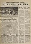 Montana Kaimin, September 25, 1964