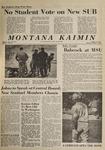 Montana Kaimin, October 1, 1964
