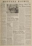 Montana Kaimin, October 9, 1964