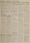 Montana Kaimin, October 13, 1964