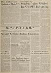 Montana Kaimin, October 21, 1964