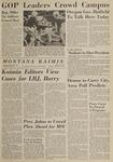 Montana Kaimin, October 27, 1964