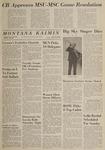 Montana Kaimin, October 30, 1964