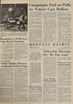 Montana Kaimin, November 3, 1964