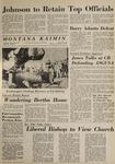 Montana Kaimin, November 5, 1964