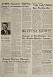 Montana Kaimin, November 10, 1964