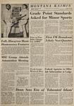 Montana Kaimin, November 18, 1964