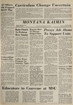 Montana Kaimin, November 20, 1964