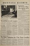 Montana Kaimin, January 14, 1965