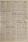 Montana Kaimin, January 19, 1965