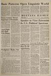 Montana Kaimin, January 20, 1965