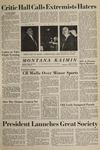 Montana Kaimin, January 21, 1965