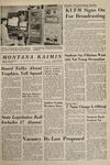 Montana Kaimin, January 27, 1965
