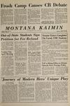 Montana Kaimin, January 28, 1965