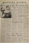 Montana Kaimin, February 10, 1965