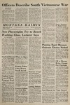 Montana Kaimin, March 3, 1965