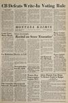 Montana Kaimin, March 4, 1965
