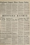 Montana Kaimin, April 9, 1965
