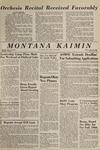 Montana Kaimin, April 16, 1965