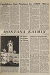 Montana Kaimin, April 20, 1965