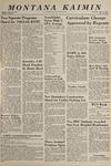 Montana Kaimin, April 21, 1965