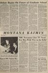 Montana Kaimin, May 11, 1965