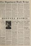 Montana Kaimin, May 12, 1965