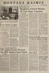 Montana Kaimin, May 13, 1965