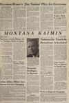 Montana Kaimin, May 14, 1965