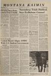 Montana Kaimin, May 27, 1965