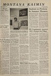 Montana Kaimin, May 28, 1965