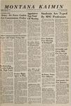 Montana Kaimin, June 2, 1965