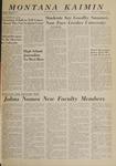Montana Kaimin, September 30, 1965