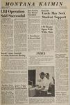 Montana Kaimin, October 8, 1965