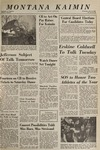 Montana Kaimin, October 27, 1965