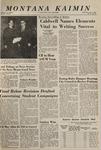 Montana Kaimin, November 3, 1965