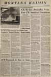Montana Kaimin, November 18, 1965