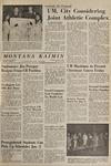 Montana Kaimin, December 9, 1965