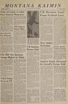 Montana Kaimin, January 18, 1966