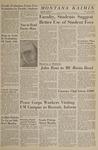 Montana Kaimin, January 19, 1966