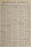 Montana Kaimin, January 25, 1966