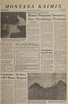 Montana Kaimin, February 9, 1966