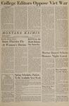 Montana Kaimin, February 11, 1966