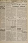 Montana Kaimin, February 22, 1966