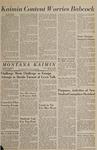 Montana Kaimin, March 1, 1966