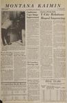 Montana Kaimin, March 9, 1966