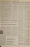 Montana Kaimin, March 10, 1966