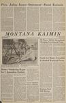 Montana Kaimin, March 31, 1966