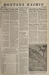 Montana Kaimin, April 20, 1966